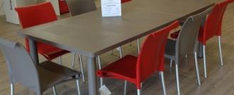 Table Libeccio / chaise Regina