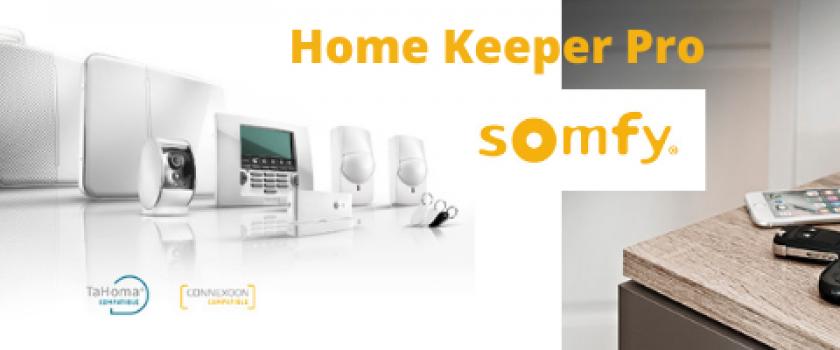 20% de réduction sur votre système d'alarme Home Keeper Pro Somfy