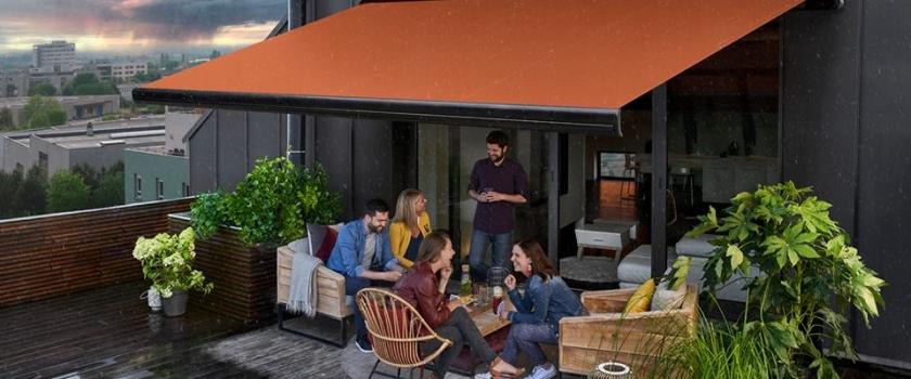 Les stores de terrasse